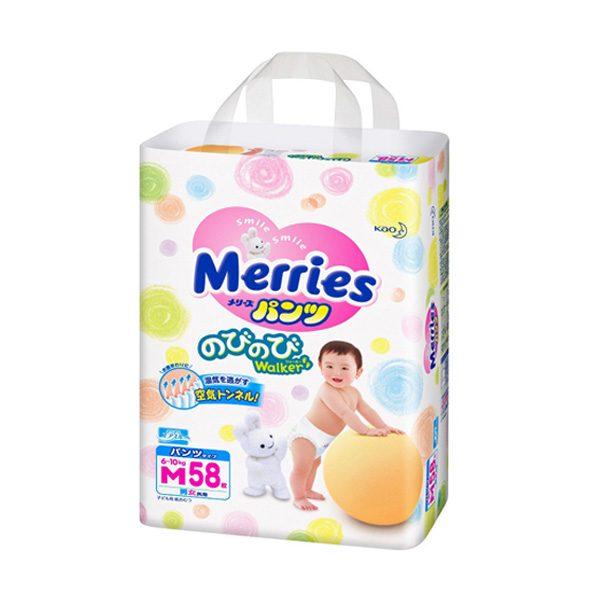 BỈM MERRIES QUẦN M 58 từ 6-10kg