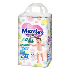 Bỉm Merries quần L44 từ 9-14kg