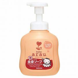 4973512258022 TOKYO SARAYA- Sữa tắm gội thảo mộc êm dịu cho bé Arau Baby (Chai 450ml)